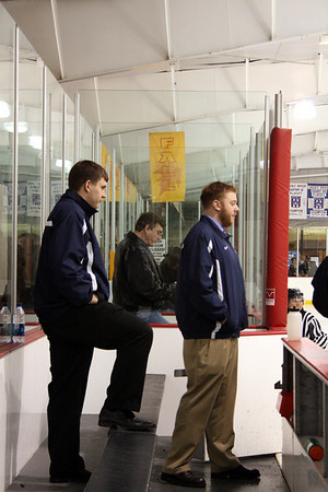 HHS Hockey vs Olmstead Falls (RR Tournament 11-29-2009