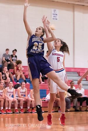 Broughton girls varsity basketball vs Sanderson. February 12, 2019. 750_5865