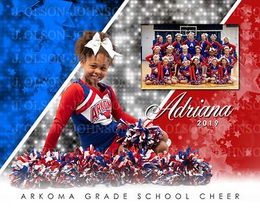 ARKOMA GRADE SCHOOL CHEER, 2019