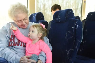 Women arrive in Lexington for NCAA
