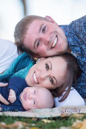 Bryton, Elise, and Casen Family Portrait 2013