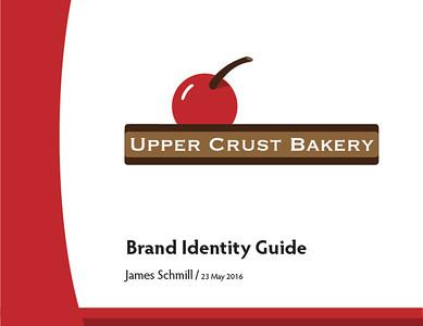Upper Crust Bakery Branding