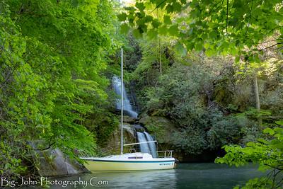 Lake Jocassee Sailing 5-6-18