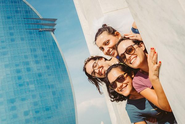 Stefania & the girls