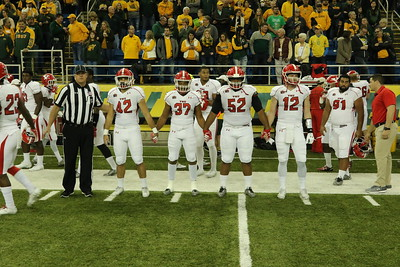YSU Football at North Dakota State