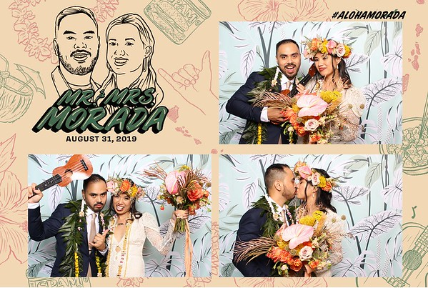 #alohamorada (Fusion Photo Booth)