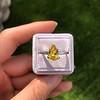 3.00ct Yellow Orange Sapphire Solitaire 15