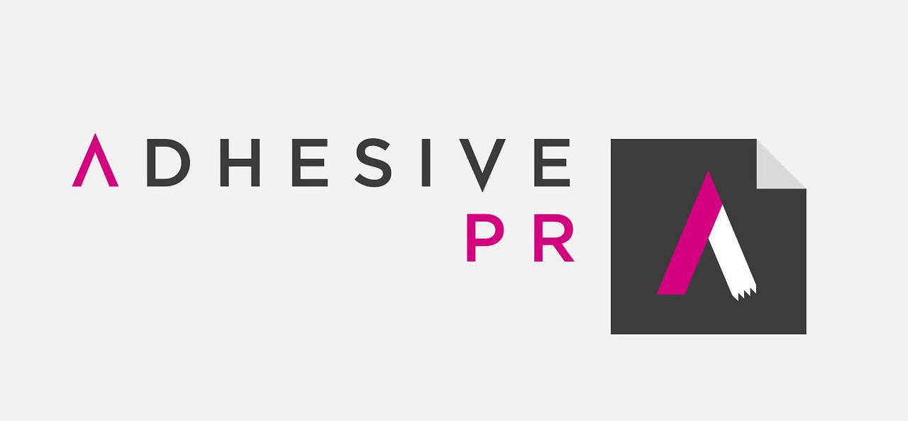 Adhesive PR logo
