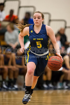 Mount Tabor Spartans vs Reagan Raiders Women's Varsity Basketball 1/21/2015