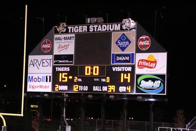 High School Football - Little Rock Catholic Rockets at Bentonville Tigers - 11/09/2007
