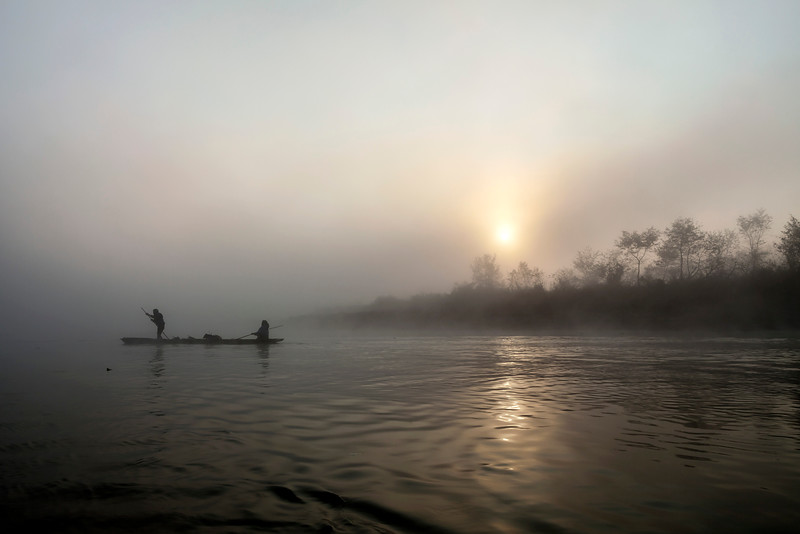 Sunrise Canoe Ride in Chitwan National Park