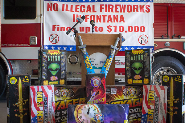 Illegal Fireworks Press Conference (6/21/18)