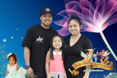 Jaelyn Azra's 2nd Birthday (Green Screen Party Portraits)