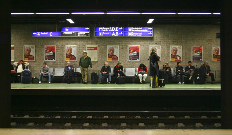 Frankfurt Flughafen Train Station