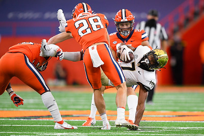 NCAA Football: Wake Forest at Syracuse; 10/31/20 (Shot for WF)