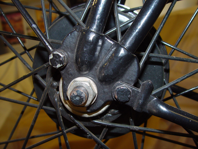 Front hub reference