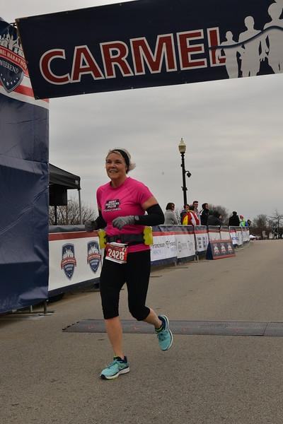 Marathon and Half Marathon finishers