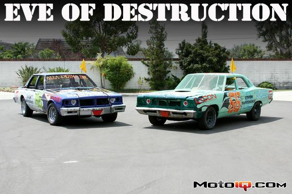 Demo derby cars