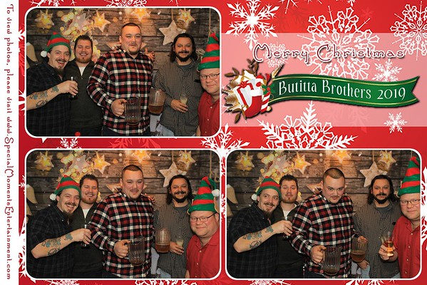 Butitta Brothers Christmas Party December 7, 2019