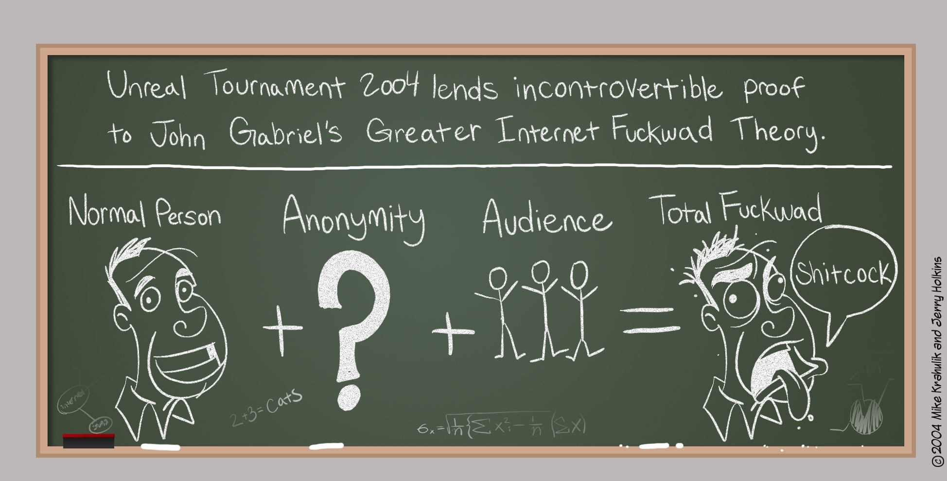 Green Blackboards (And Other Anomalies)
