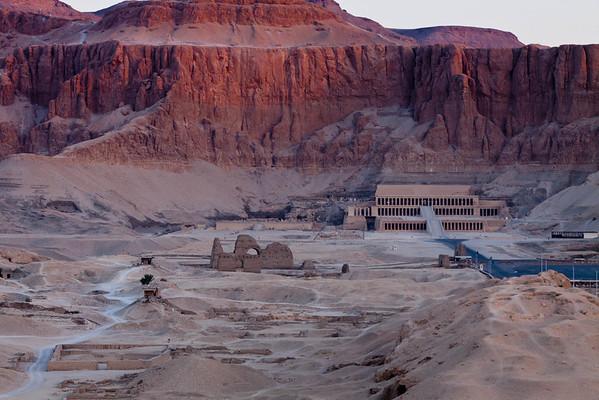(Dag 7 & 8) Ballonvaart, tempel Karnak en Luxor