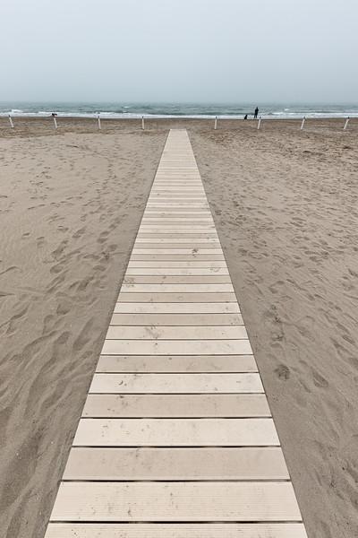 Boardwalk - Milano Marittima, Cervia, Ravenna, Italy - April 25, 2019