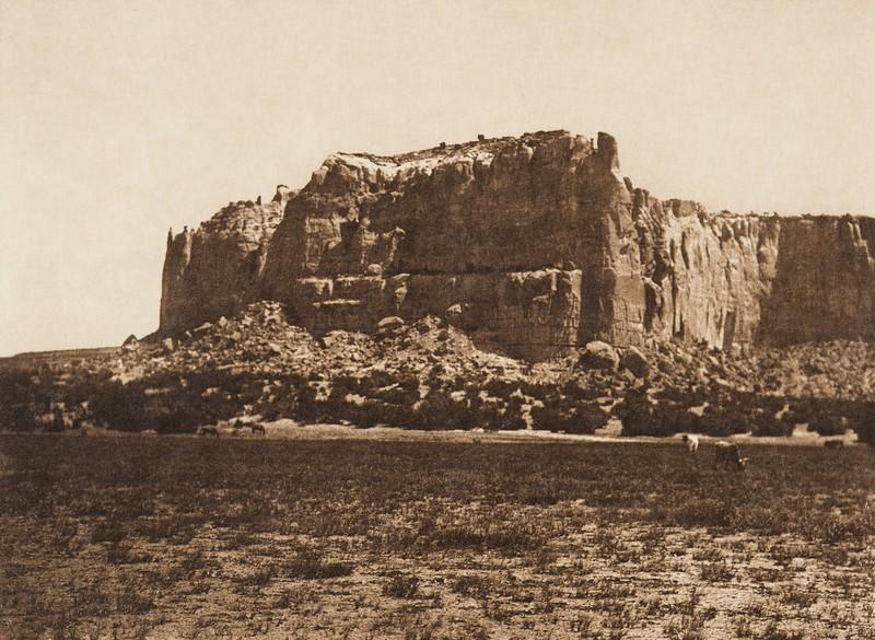 Acoma and the Enchanted Mesa (The North American Indian, v. XVI. Norwood, MA, The Plimpton Press,  1926)