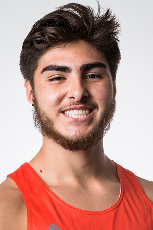2019-2020 Men's Track and Field Roster Headshots