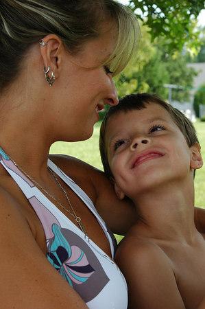 Jessa & Brady-July 2006