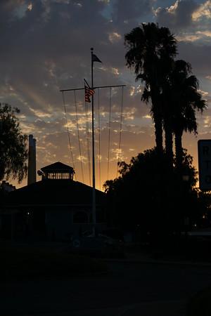 Pittsburg Marina sunset