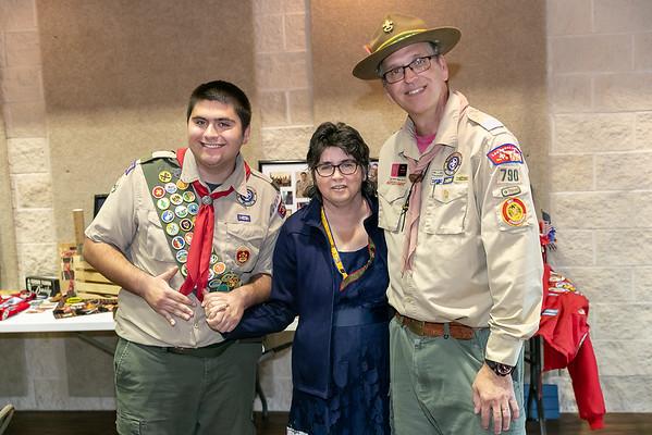 Richard Eubanks III Eagle Scout Court of Honor 2020