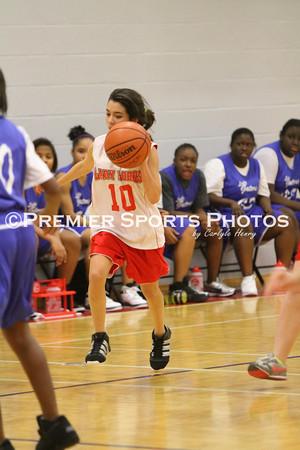 Lomax 8B Girls Basketball vs Dickinson 12/14/2011