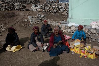 Food Distribution, Kyangin Gompa, Nepal 2018