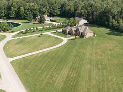 Mike D House in SC Drone