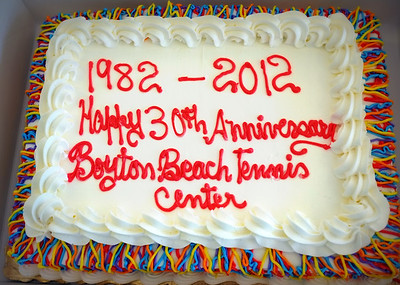 Tennis Ctr Happy 30th Anniversary