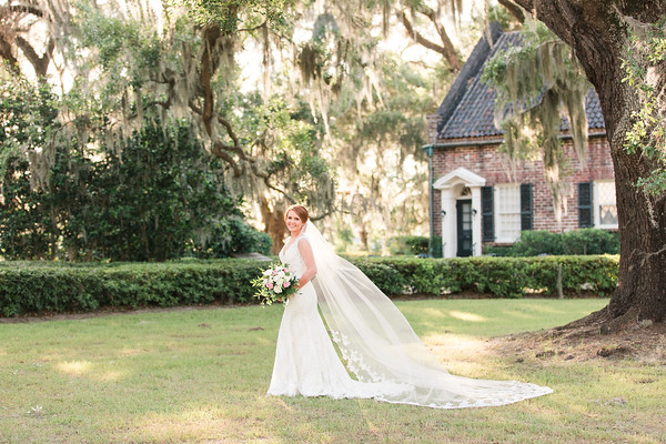 Emily | Bridal Session at Mansfield Plantation