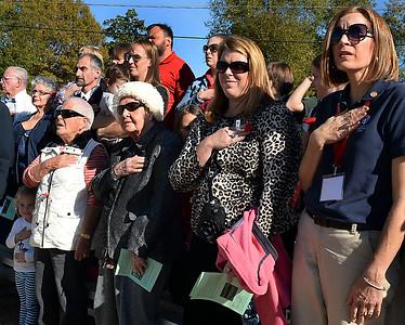 Veterans Day Ceremony 2014