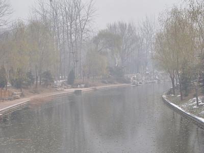 Deep Winter, Beijing, China - December 5, 2011