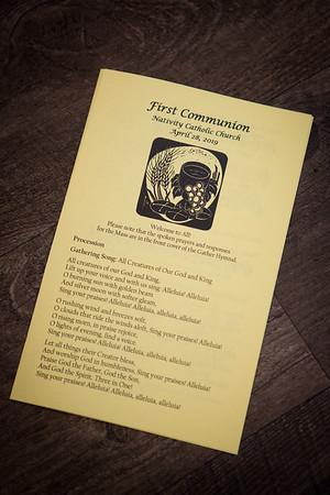 Nativity First Holy Communion 4pm Mass
