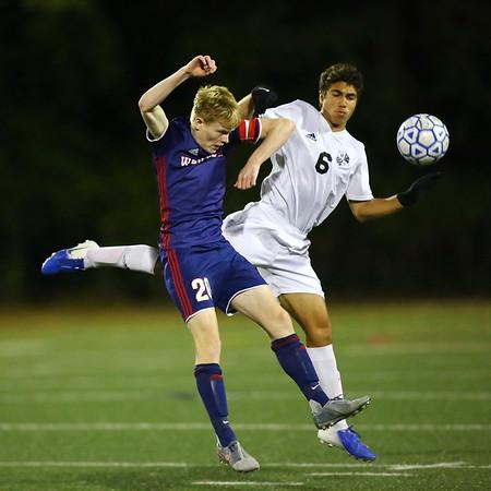 20191019 Varsity Boys Soccer Whitman at Wootton