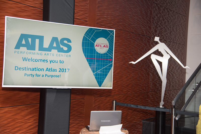 Atlas Performing Arts Center, Destination Atlas Party for a Purpose Gala, October 6, 2017. Photo by Ben Droz.