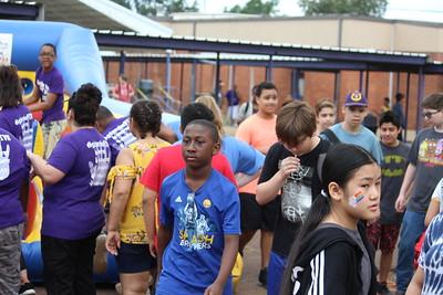 Center Midde School hosts end of school Field Day