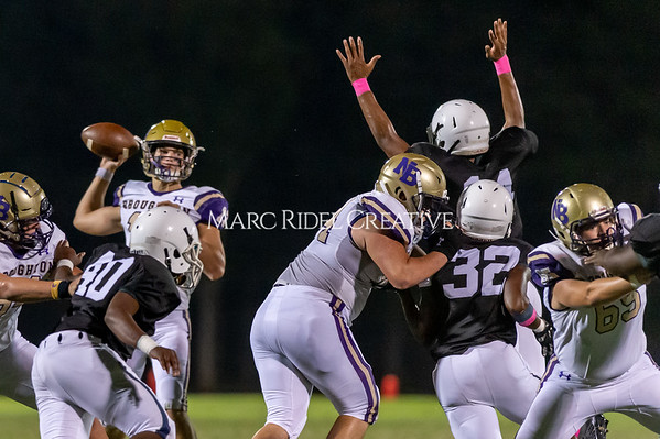 Broughton Varsity football at Southeast Raleigh. October 4, 2019. D4S_4852