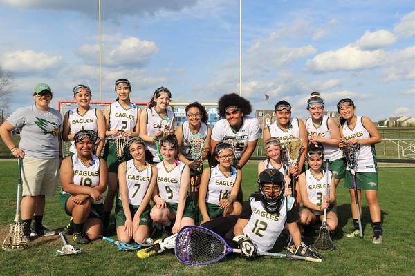 SV JV Girls Lacrosse vs. Magruder HS 4-9-2019