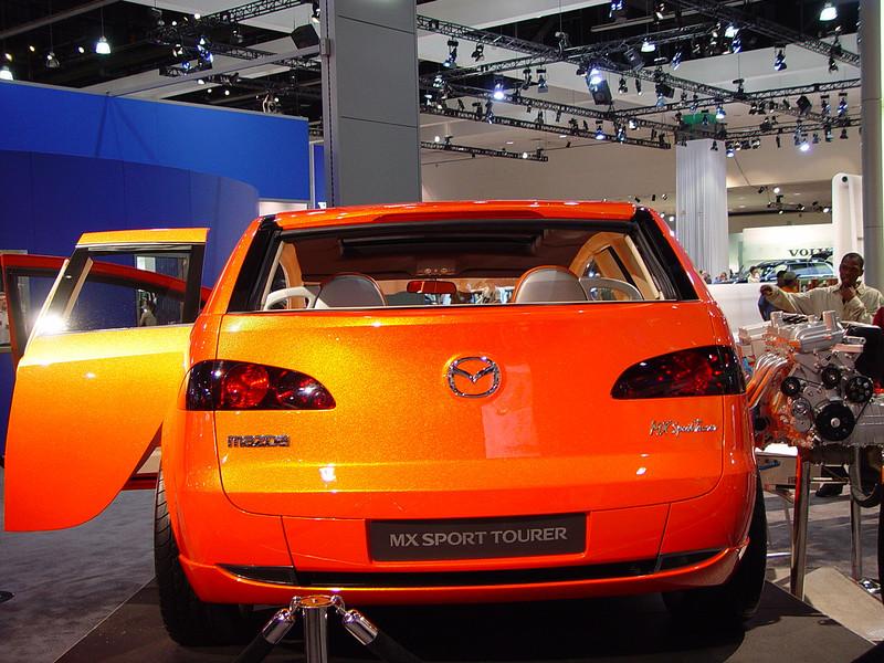 Mazda MX Sport Tourer concept car