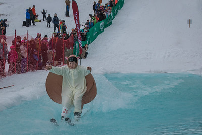 Pond Skimming at Sugarbush
