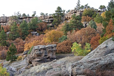Castlewood Canyon in the Fall **