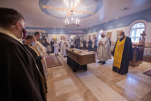 Divine Liturgy for Protopresbyter Daniel Hubiak