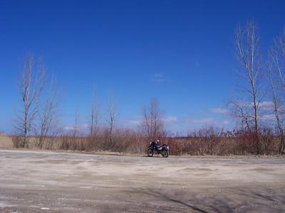 saginaw bay march 2008