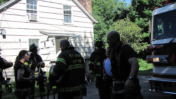 7/21/12 Ingham Hill Rd Smoke in House